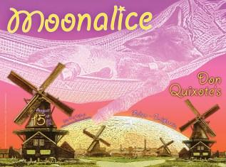 8/15/09 Moonalice poster by Alexandra Fischer
