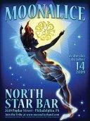 10/14/09 Moonalice poster by Alexandra Fischer