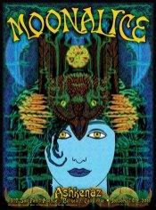 M334 › 1/14/11 The Ashkenaz, Berkeley, CA poster by Alexandra Fischer