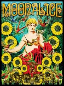 M382 › 6/10/11 Harmony Festival, Sonoma County Fairgrounds, Santa Rosa, CA poster by Alexandra Fischer