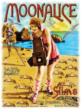 M405 › 8/27/11 Slim's, San Francisco, CA poster by Alexandra Fischer