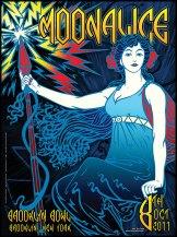 10/8/11 Moonalice poster by Alexandra Fischer
