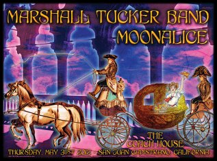 M478 › 5/31/12 The Coach House, San Juan Capistrano, CA poster by Alexandra Fischer with Marshall Tucker Band