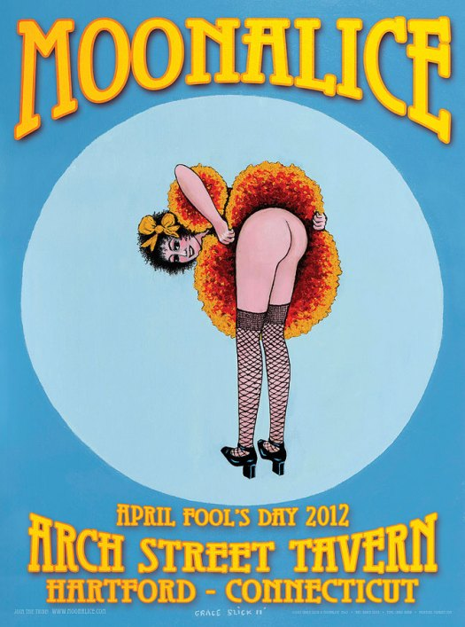 4/1/12 Moonalice poster by Grace Slick
