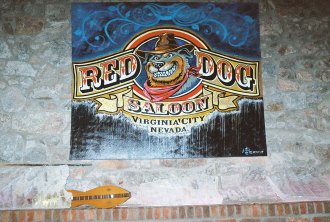 the new Red Dog Saloon logo
