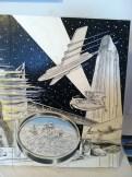 Flying High by Dennis Larkins (in progress, adding color)