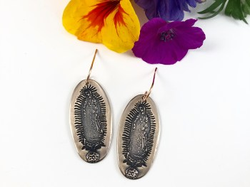 Virgin of Guadalupe Earrings