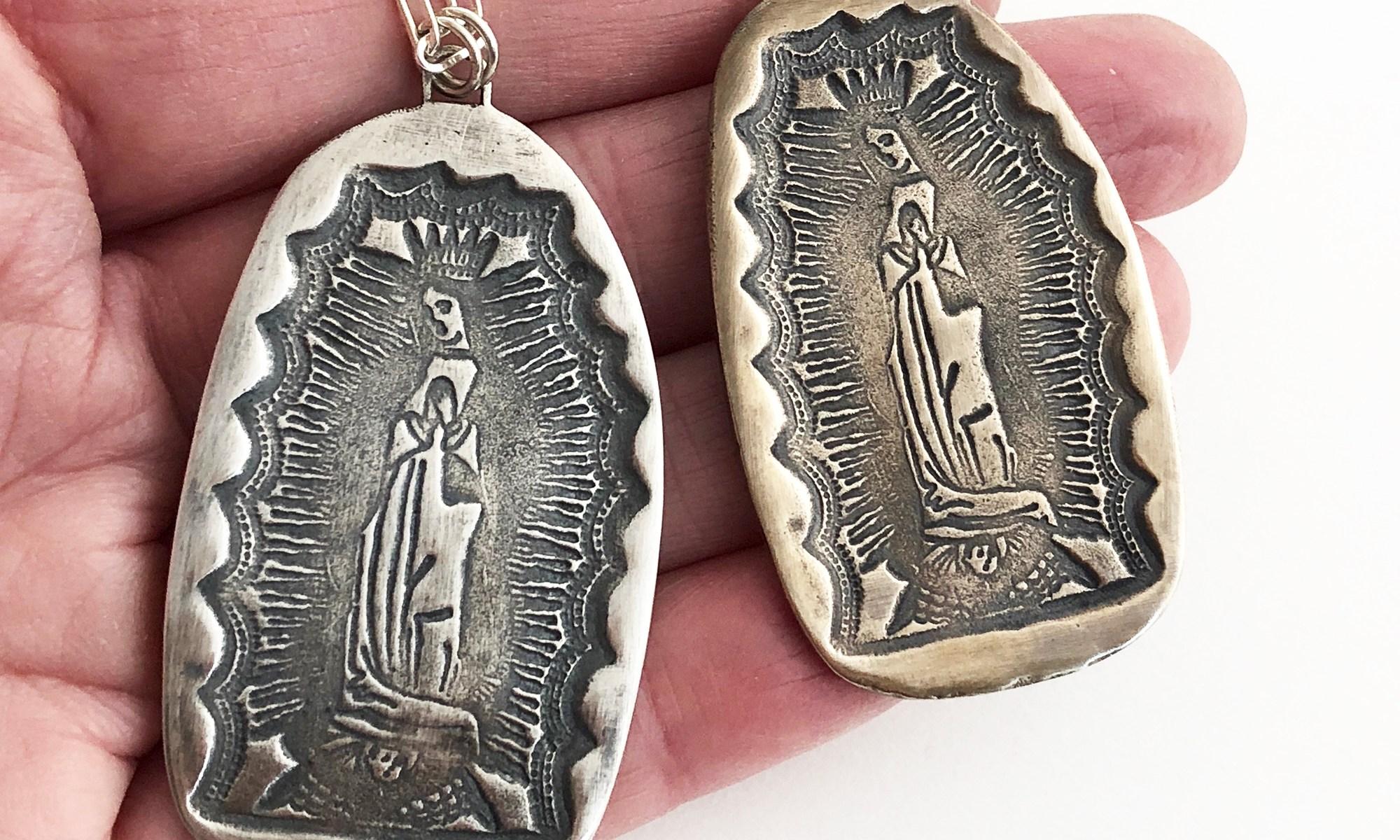 Virgin of Guadalupe Pendant