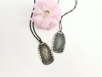 Our Lady of Guadalupe Pendant Necklace