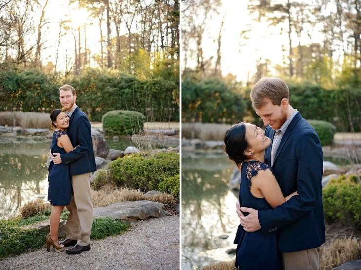 13 Engagement pictures Birmingham Botanical Gardens