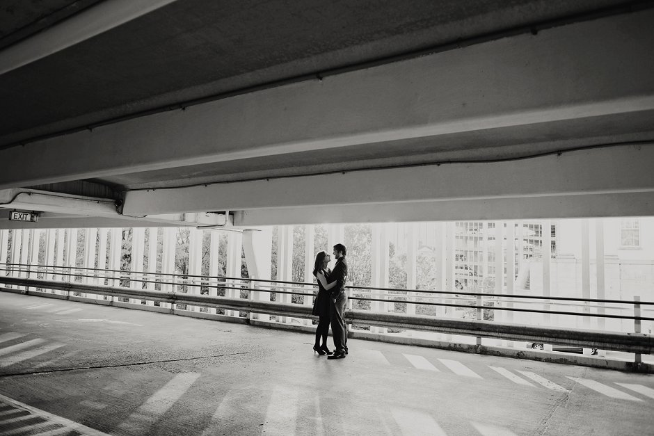 18 downtown huntsville al modern engagement session