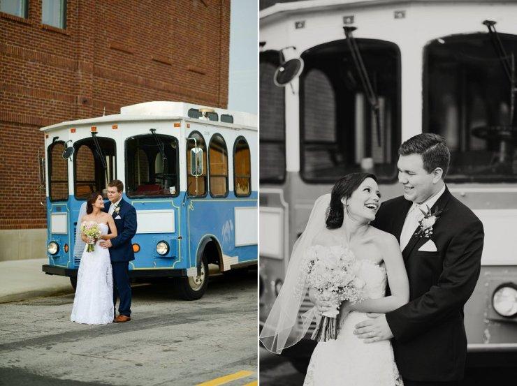 43 sheffield al wedding trolley pictures