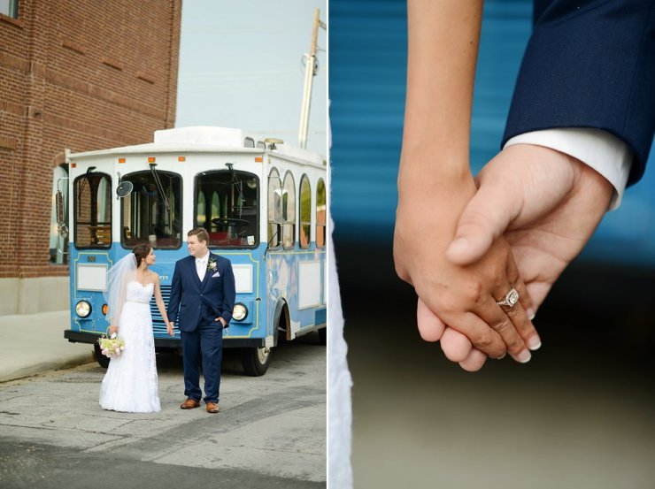 45 florence al wedding trolley pictures