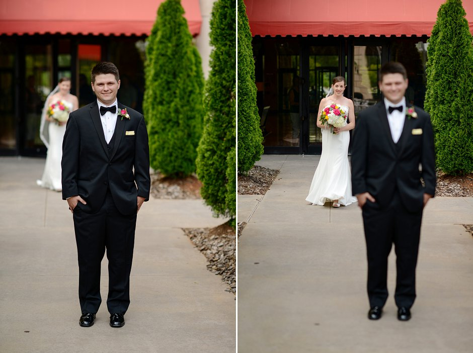 12 Westin Huntsville wedding photographer first look
