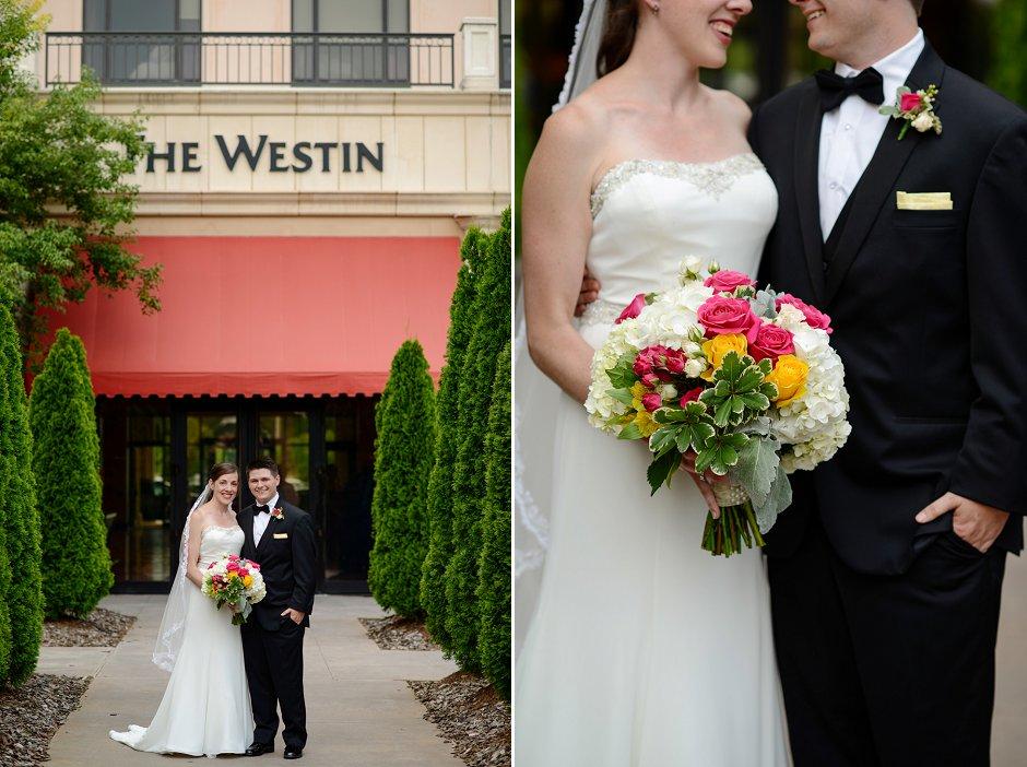 15 Westin Huntsville wedding photographer first look