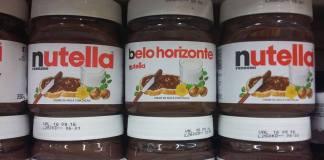Nutella com embalagem personalizada - Fhilipe Pelájjio