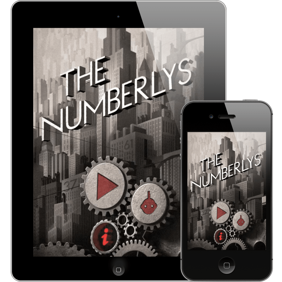The Numberlys App on Devices