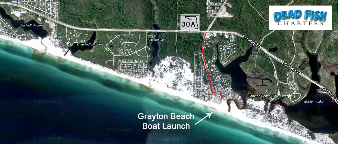 Our location dead fish charters for Grayton beach fishing charters