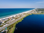 Dune Allen Beach Florida aerial photography