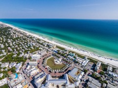 Seaside Florida aerial photography
