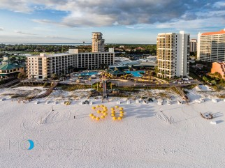 Sandestin Florida aerial photography