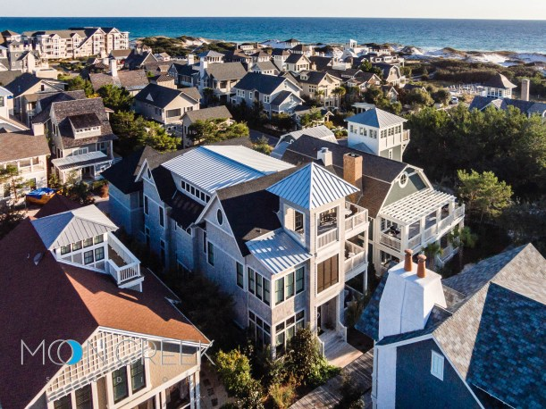 Aerial real estate photography in Santa Rosa Beach, Florida