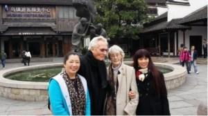 Guide, Chris, EE & Amy, Wuzhen, China, photo: Barry Su