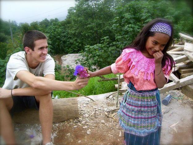 Guatamalan girl & tourist