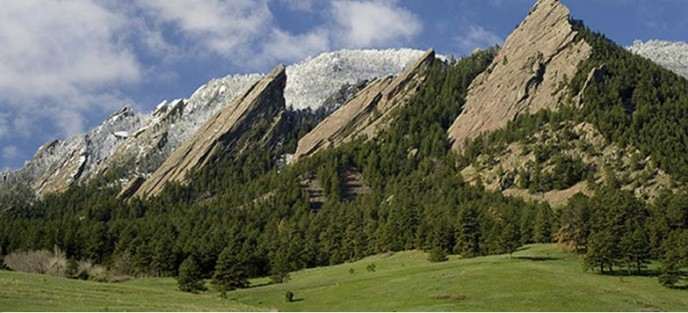Boulder's Rocky Mountains Flatirons