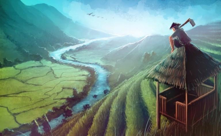 5O Lukisan dan gambar Pemandangan Alam yang sangat