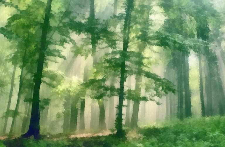 5O Lukisan dan gambar Pemandangan Alam yang sangat Menginspirasi Kita