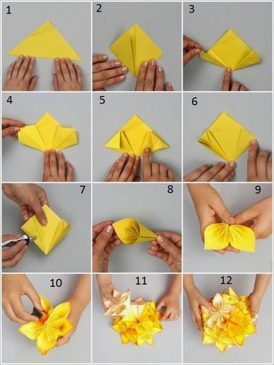 Membuat Kerajinan Dari Kertas Karton : membuat, kerajinan, kertas, karton, Membuat, Bunga, Kertas,, Koran,, Karton,, Tisu,, Kado,, Krep,, Origami