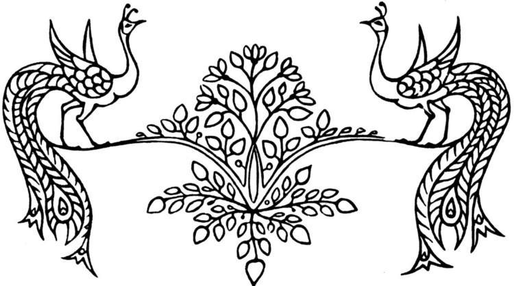25 Ragam Hias Flora dan Fauna Jenis Beserta Gambar dan