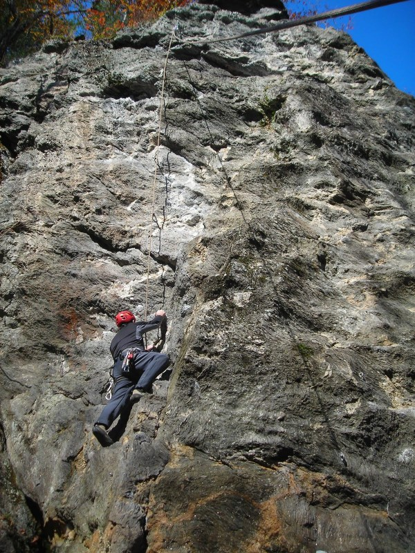 Training for Rock Climbing with Mooney Mountain Guides
