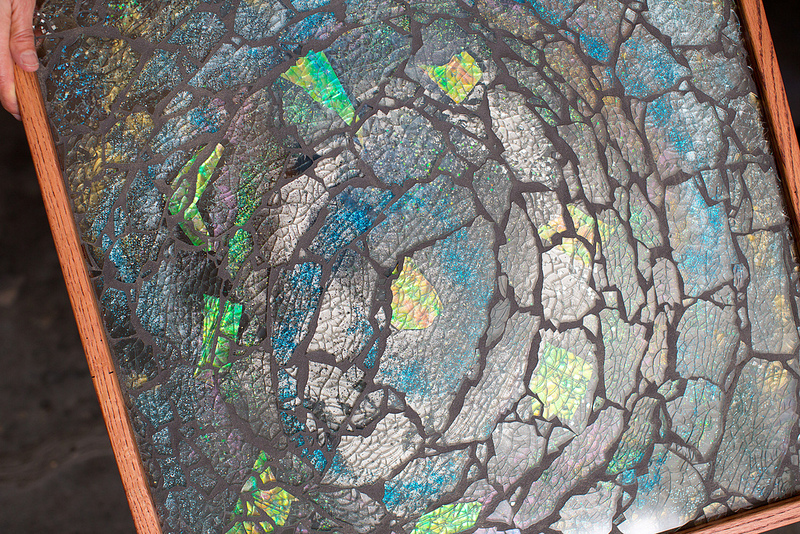 Moonfish Artworks Mosaic Table 1