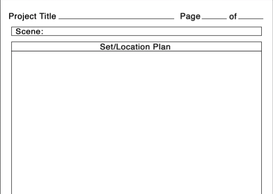 Set plan template, filmmaking, filmmaker, indiefilm, moonhead films,
