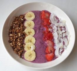 Seedimise smoothie bowl