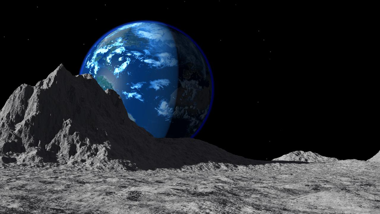 Astronomy Wallpaper Hd Lunar Landscape Moonipulations