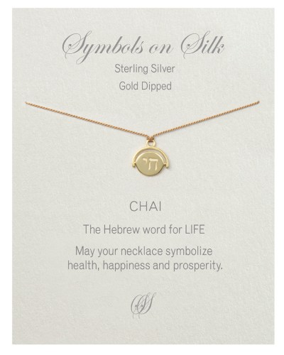 Chai Necklace Gold Plated