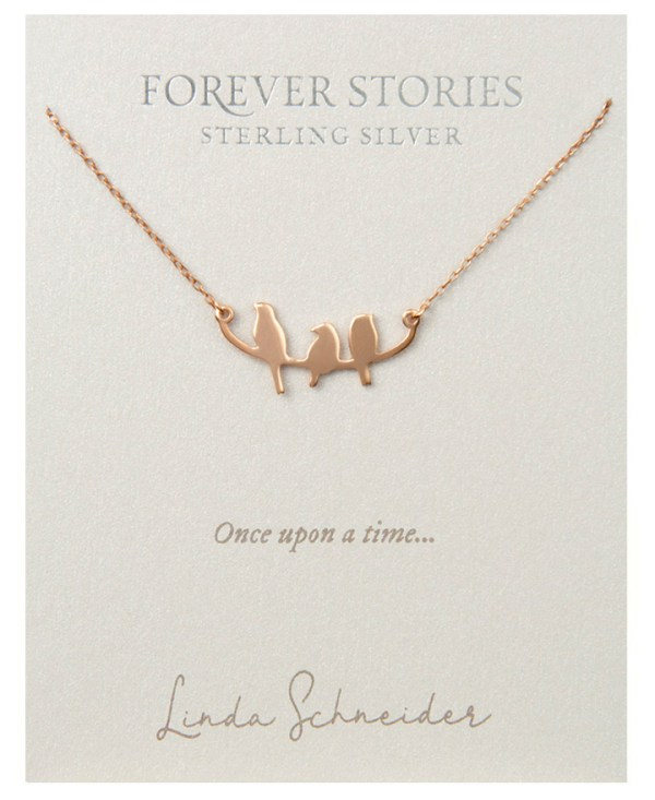 Forever Stories Birds Necklace
