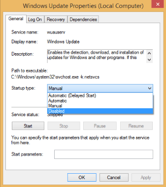 6 Ways to Stop Windows Update in Windows 10-windows update service disabled