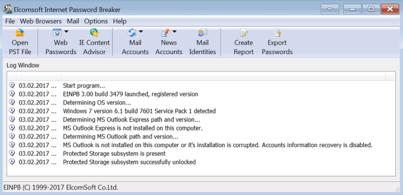 Hack Facebook and Gmail using Password Extractor
