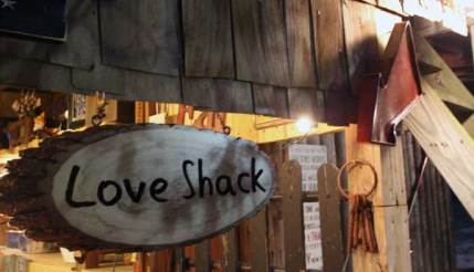The Love Shack is a warm breath of fresh air during a cold winter in NYC