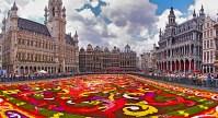 Brusells La Grande Place  Medieval Ghent and Bruges ...