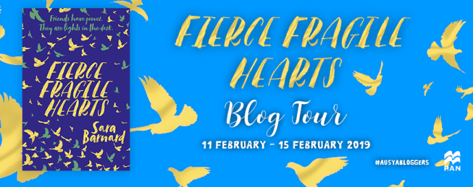 Tour Stop: Fierce Fragile Hearts by Sara Barnard Fiercely Broke My Fragile Heart
