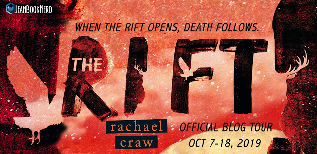 Tour Stop: The Rift by Rachael Craw - Guest Post + Review