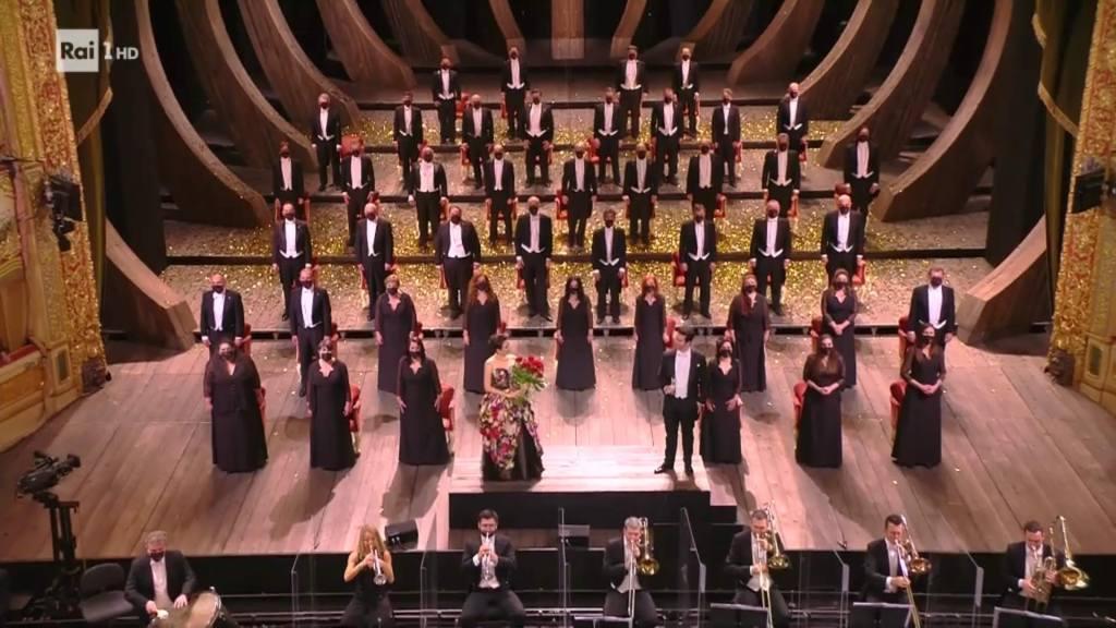 Il coro del Teatro la Fenice