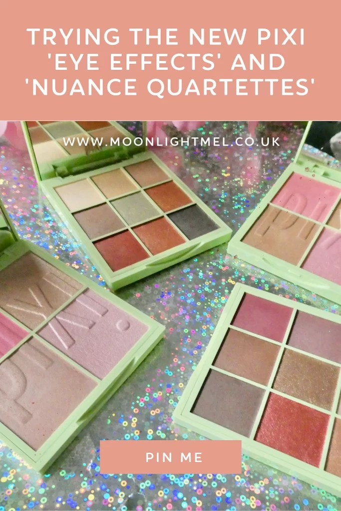 Trying the New Pixi 'Eye Effects' and 'Nuance Quartettes' Compacts
