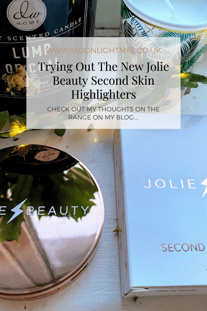 Trying Out The New Jolie Beauty Second Skin Highlighters