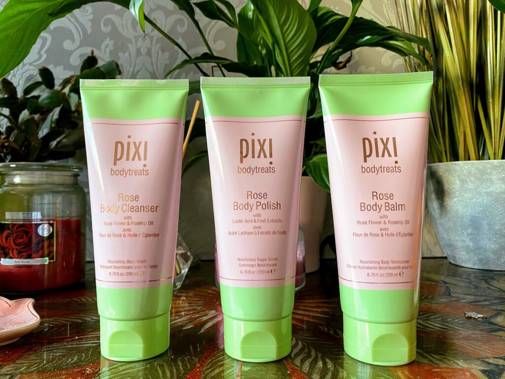 Pixi Rose Bodytreats Collection